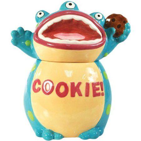 Disney Cookie Jars Amazon Com >> Amazon Com Westland Giftware Kookie Jars Cookie Monster Cookie Jar