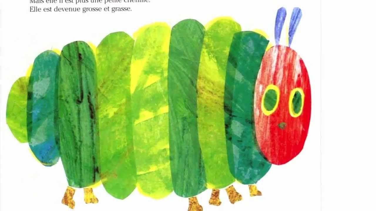 La Chenille Qui Fait Des Trous (de Eric Carle) - Lue par des enfants