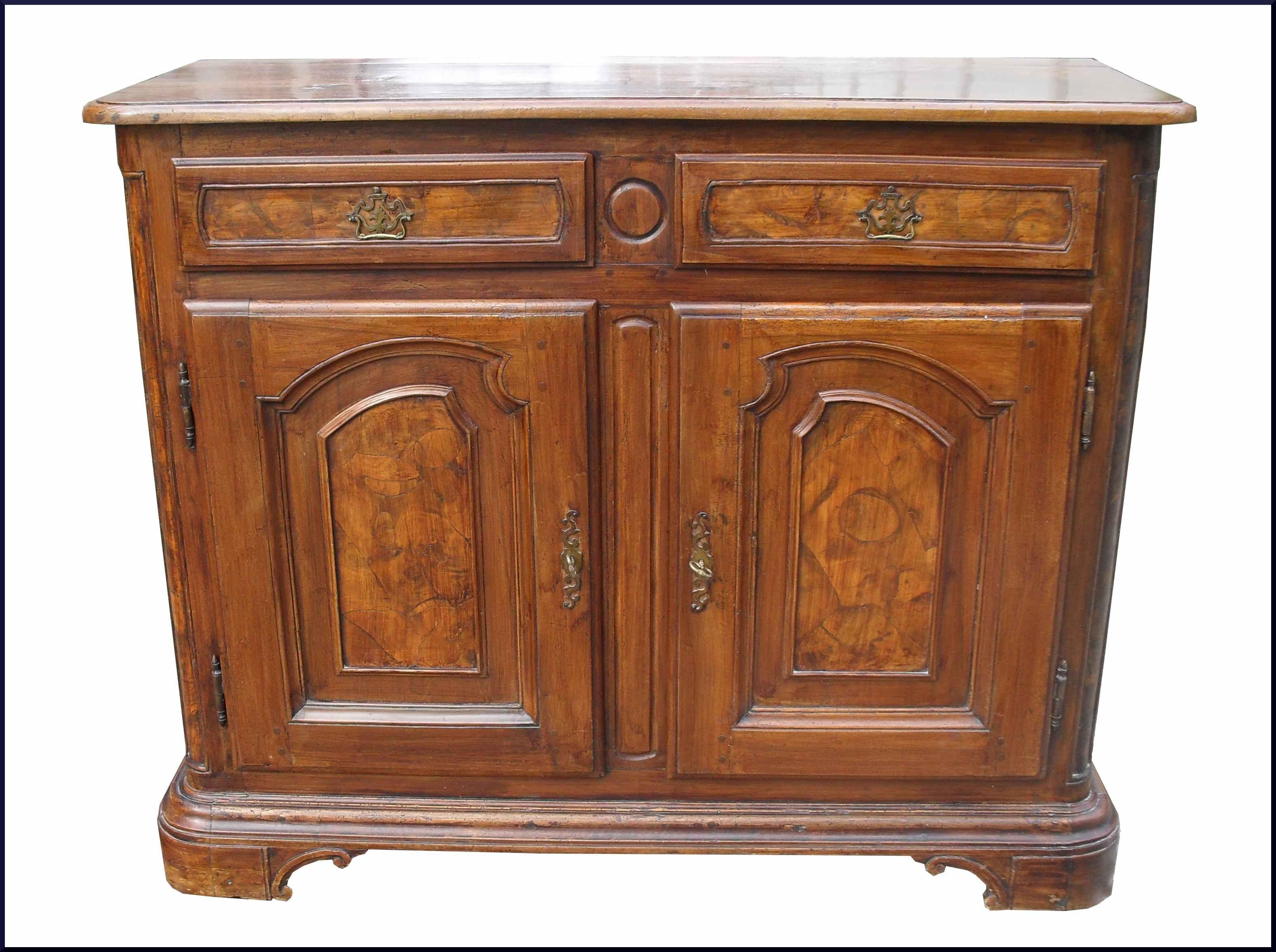 Credenza autentica restaurata con ante e cassetti radicati mobili antichi e d 39 epoca restaurati - Mobili restaurati ...