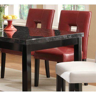 Coaster Fine Furniture 103612 Newbridge Keyhole Dining Chair (Set of 2)