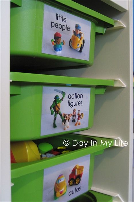 11 Tips For Keeping Kids Toys Organized: Organize :) Definitely Need To Do This So I Can Get More