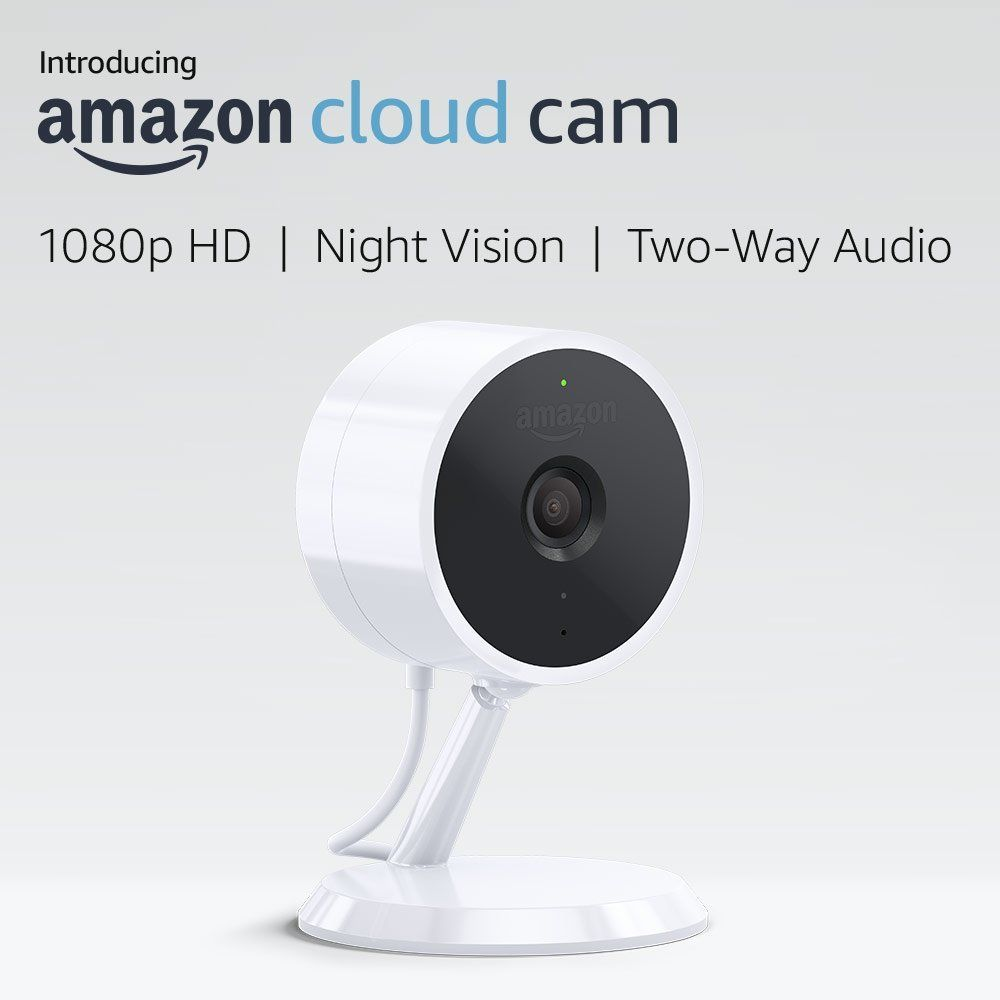 Amazon Cloud Cam Indoor Security Camera Works With Alexa Technology Security Cameras For Home Wireless Home Security Systems Wireless Home Security
