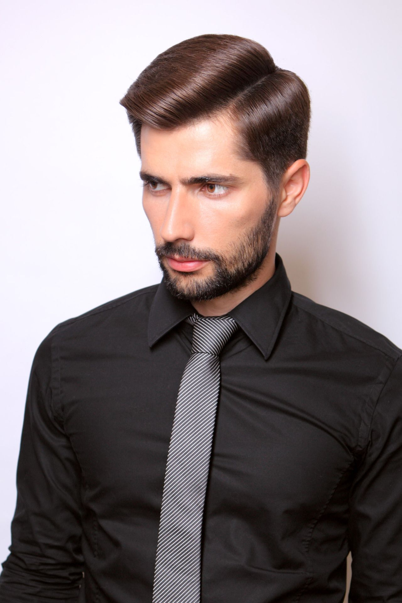 Men haircuts short fetish barber  awesome hairstyle  pinterest  wet hair pompadour