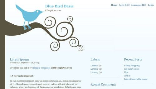 Kickass free blogger templates