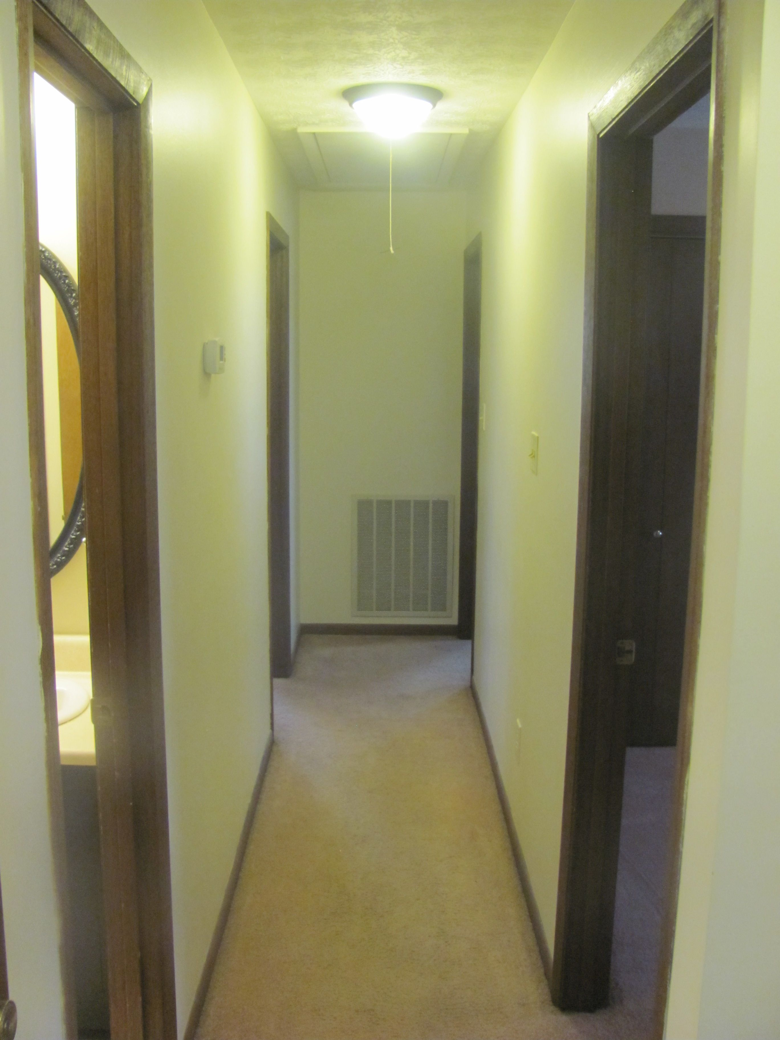 The interior has recently been painted and all carpets have been cleaned. This home is ready to be lived in.