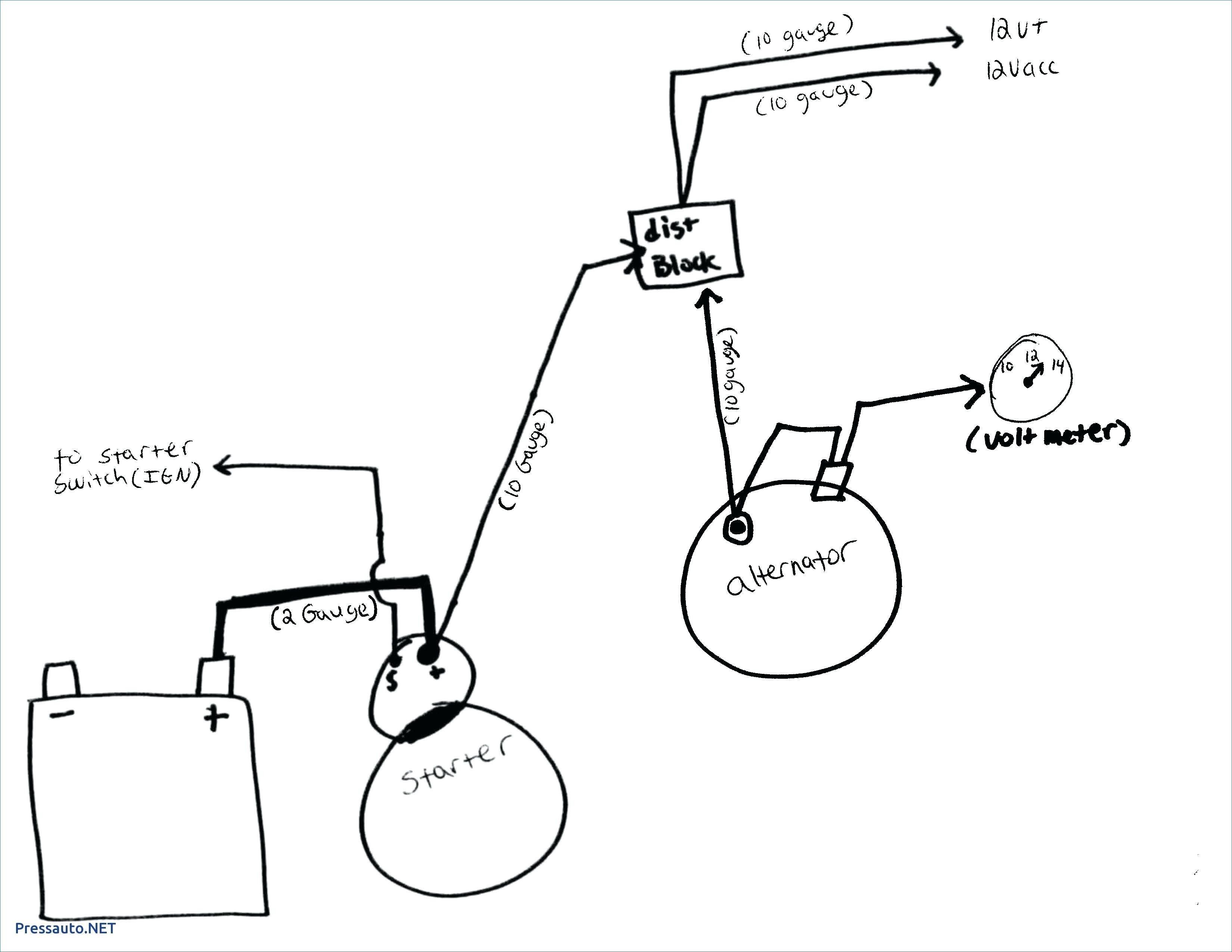 External Voltage Regulator Wiring Diagram Dodge
