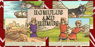 romulus and remus story romans roman story stories. Black Bedroom Furniture Sets. Home Design Ideas