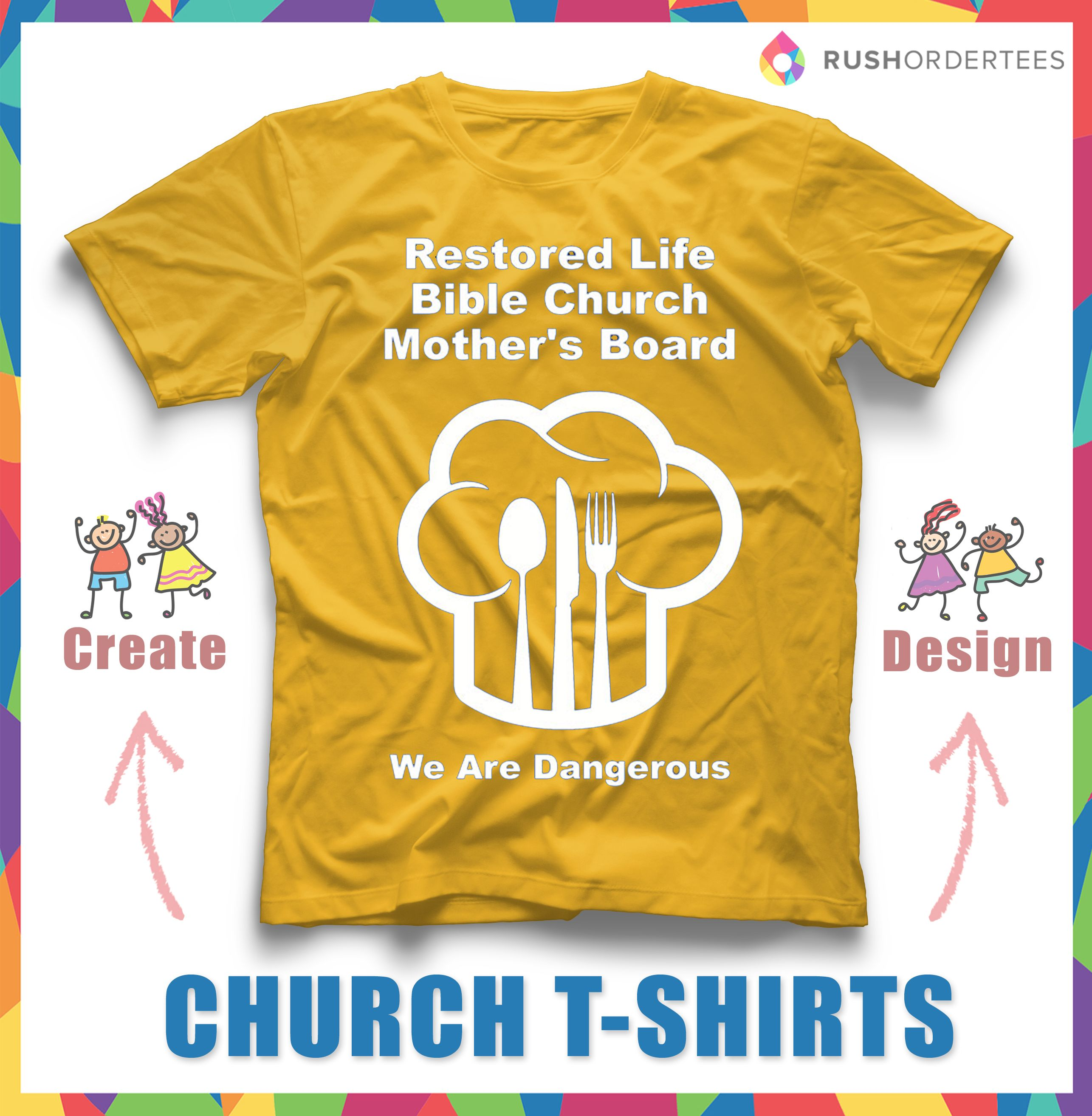 Design your own t-shirt for fun
