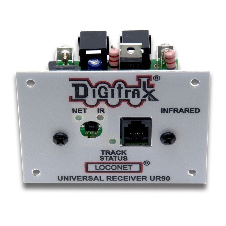 Digitrax Ur90 Infrared Receiver Front Panel Bob The Train Guy In 2020 Infrared Wireless System Receiver