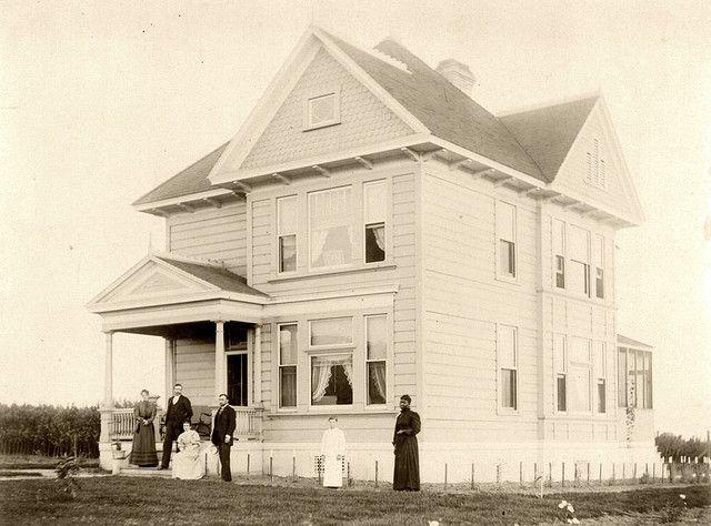 Old Farm Home 1890 Coffin Family In Whittier California