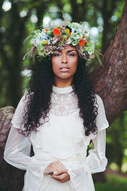 Boho Bride by Emily Jane Morgan, via Flickr