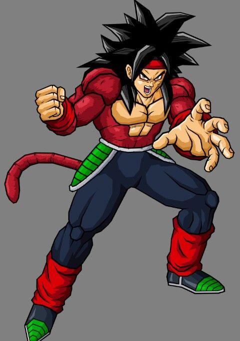 Ssj4 Bardock Dragonball Z