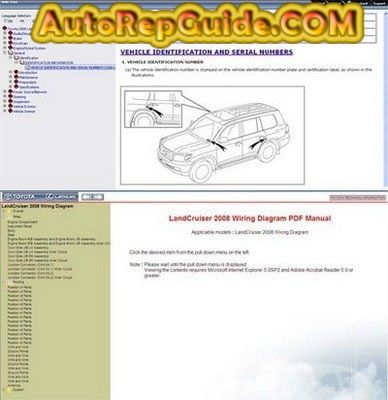 toyota land cruiser repair manual pdf free download