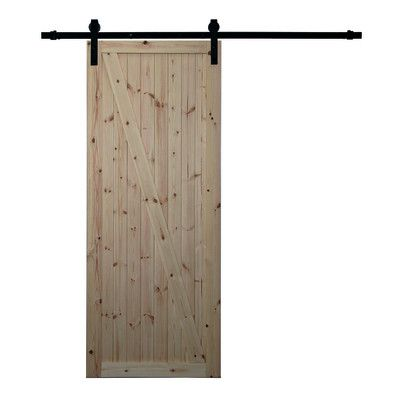 Porte, scale e finestre-Porta da interno scorrevole Factory grezza ...