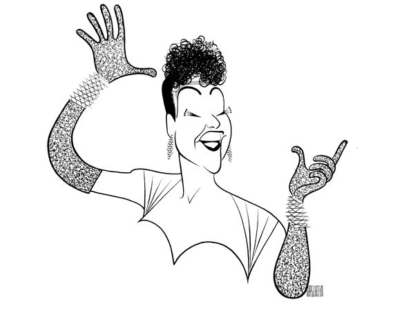 Ethel Merman was the kind of performer Hirschfeld enjoyed