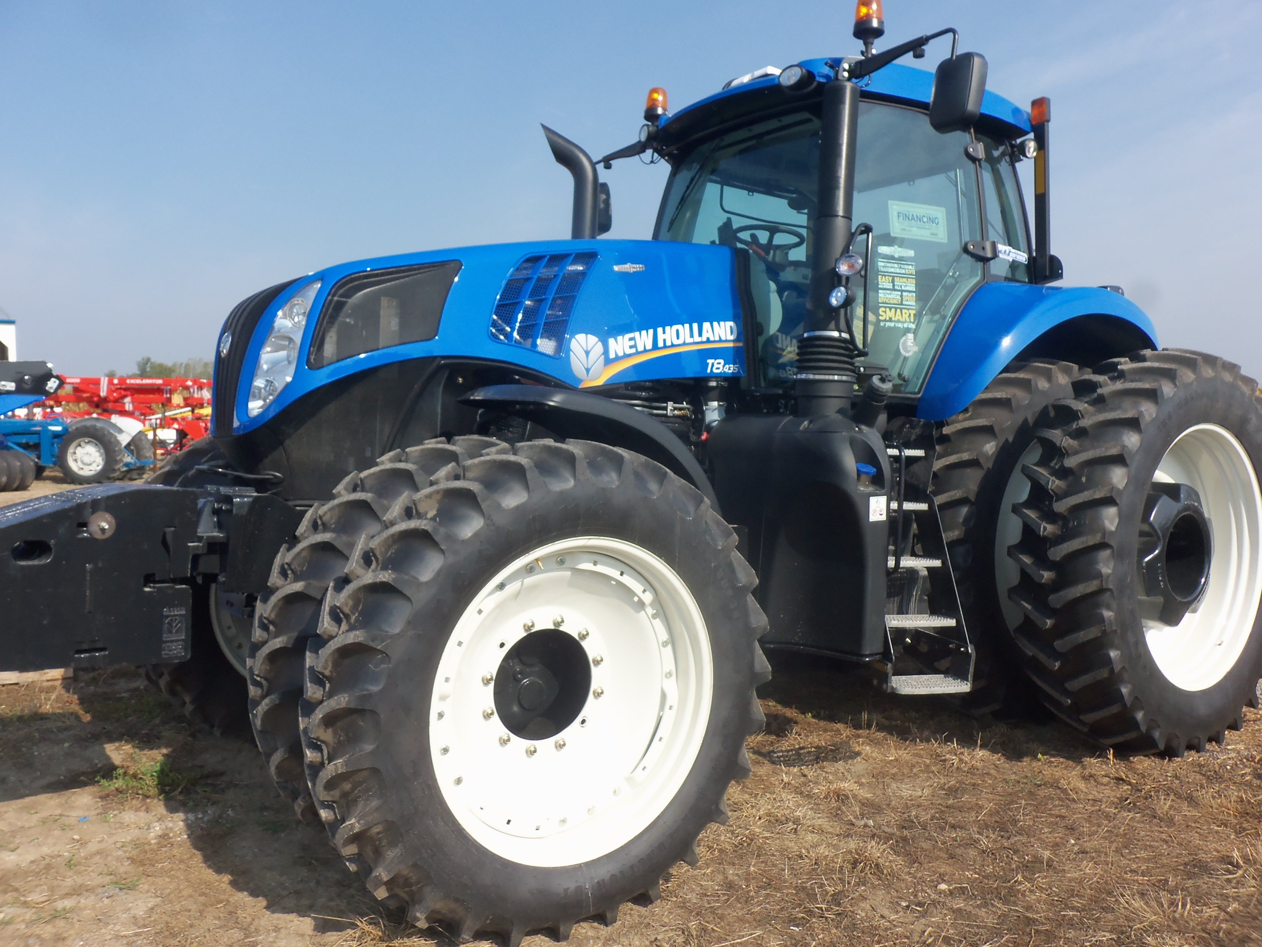New Holland T8.345.Brand new tractor