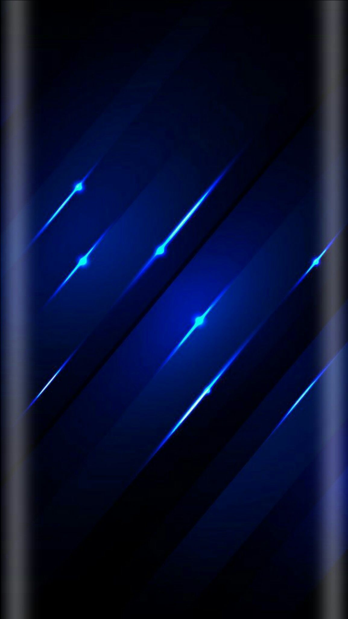 Diagonal Blue Strobe Lights Wallpaper Phone wallpaper