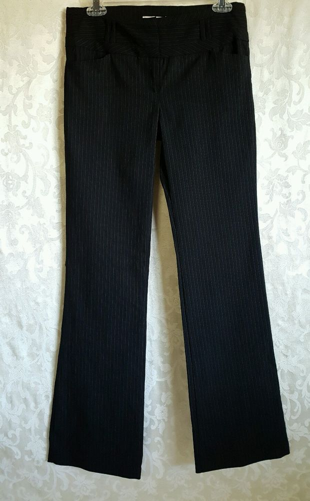 c77b3195af4 My Michelle Juniors Girls Pants Black Striped Size 3 Inseam 31 Dress Style  Wear