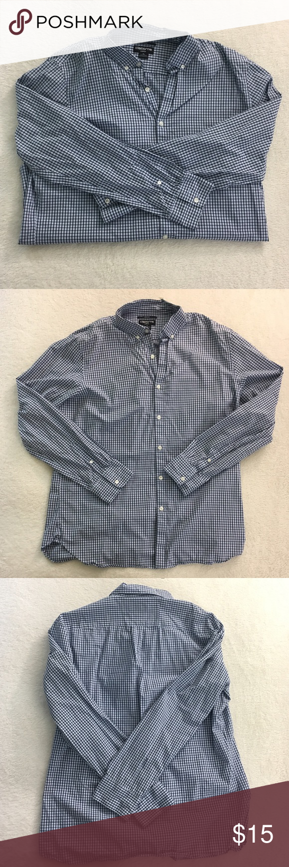 Express extra slim fit button down   Clothes design, Slim