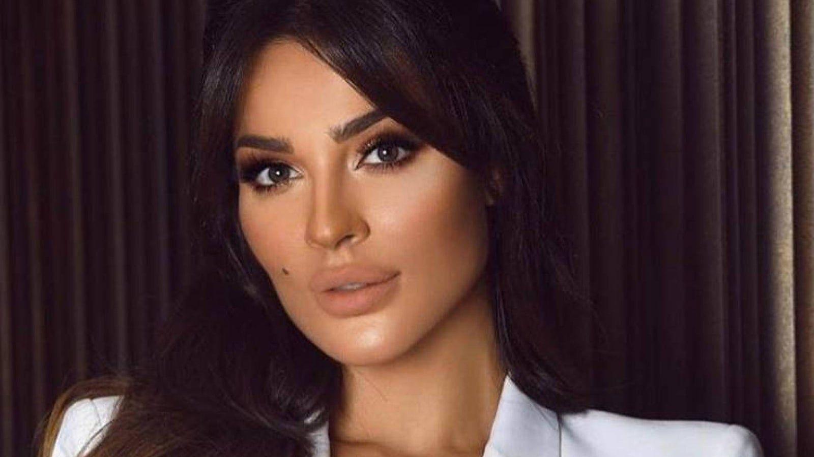 نادين نسيب نجيم تكشف أسرار الجمال من دبي Hoop Ring Nostril Hoop Ring Nose Ring