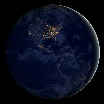 Nasa Earth Month 2013 Earth At Night Earth From Space Nasa Earth