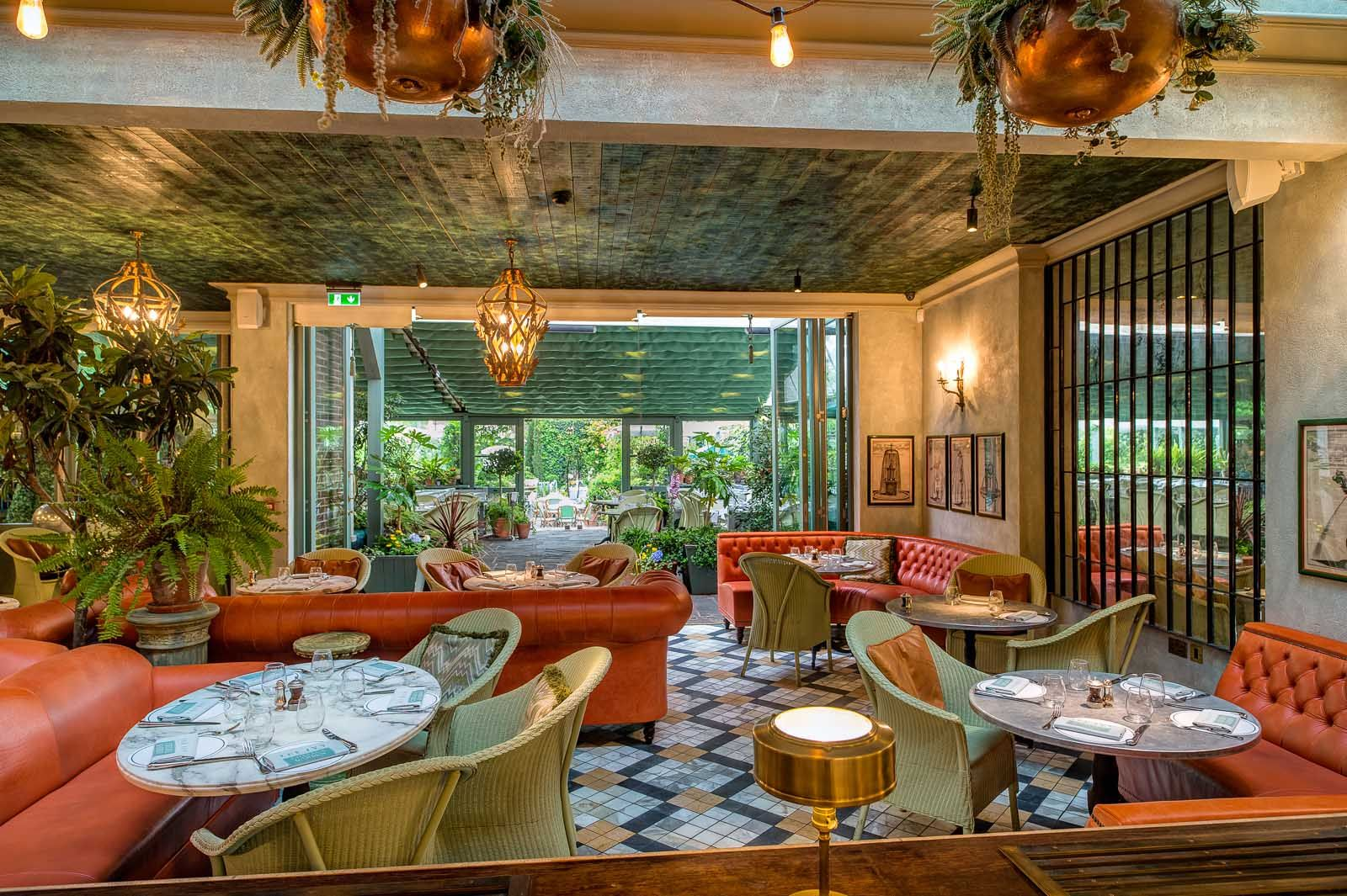 Food The Ivy Chelsea Garden Tube Sloane Square in 2019