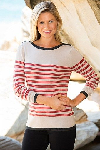 Women - Capture Stripe Jumper