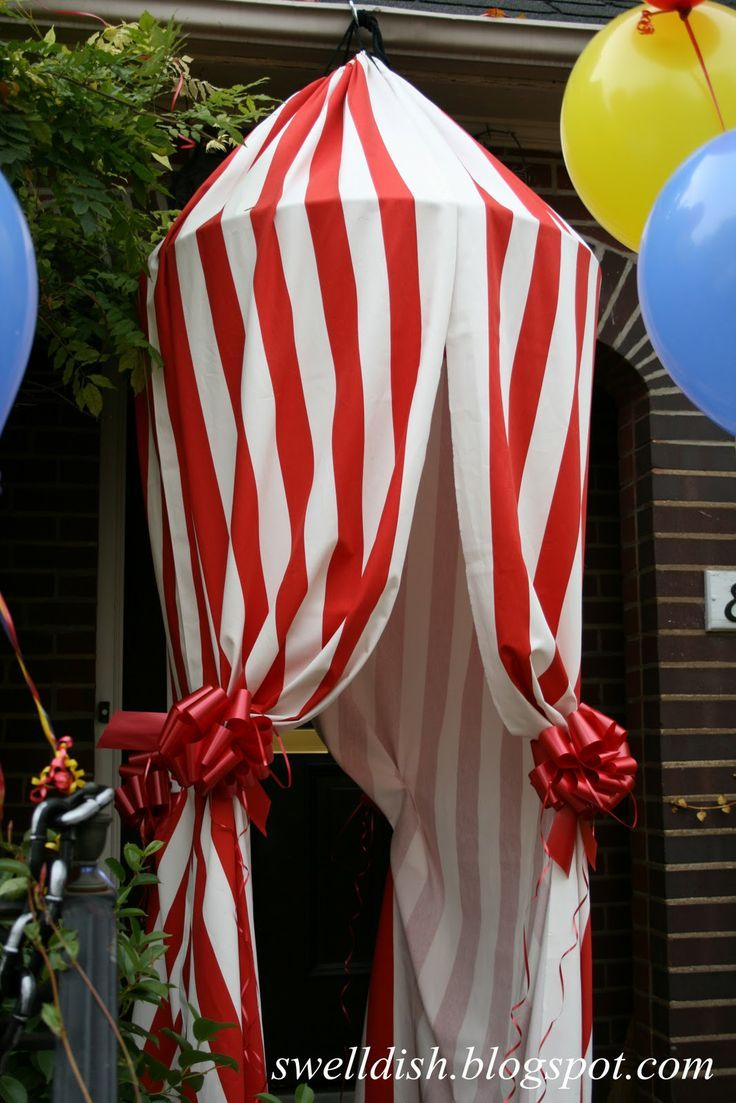 Library displays & printable carnival curtains - Google Search | 16-17 WES Carnival ...
