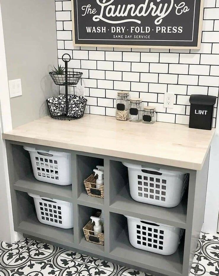 Laundry Room Ideas to Boss Your Dirty Washing