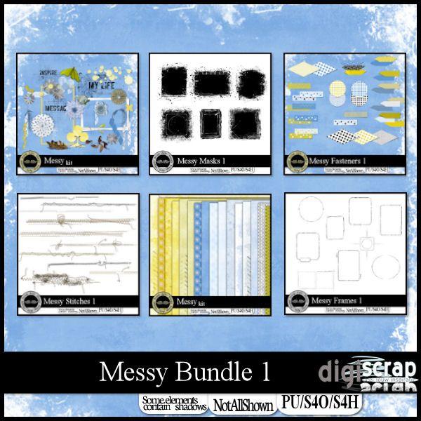 Messy 1 bundle