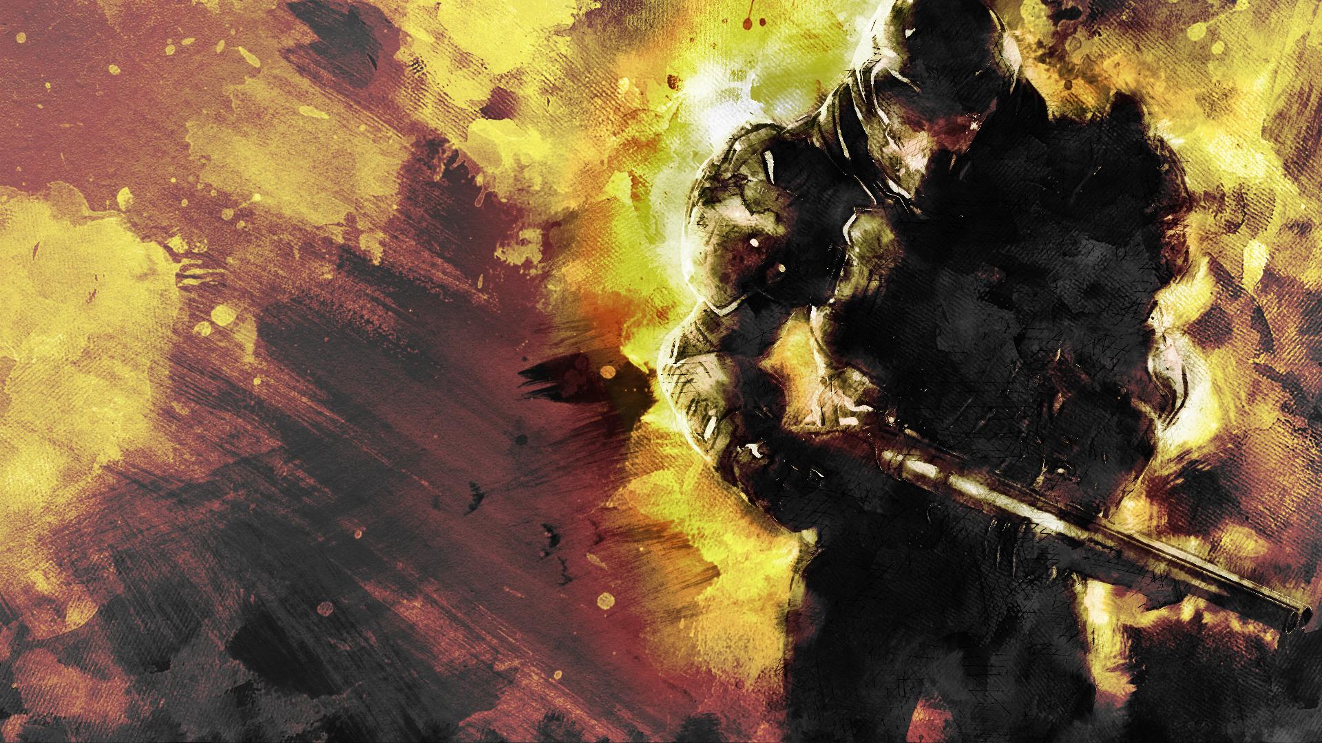 [Doom 2016] Heard you guys like game art Doom 2016, Game