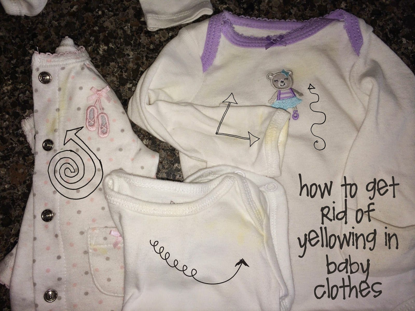 how to rid of yellow staining in baby clothes 4 tbsp hydrogen