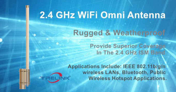 Omni Directional Wifi Extender Antenna From Trelink In 2020 Wireless Hotspot Wifi Antenna Wifi