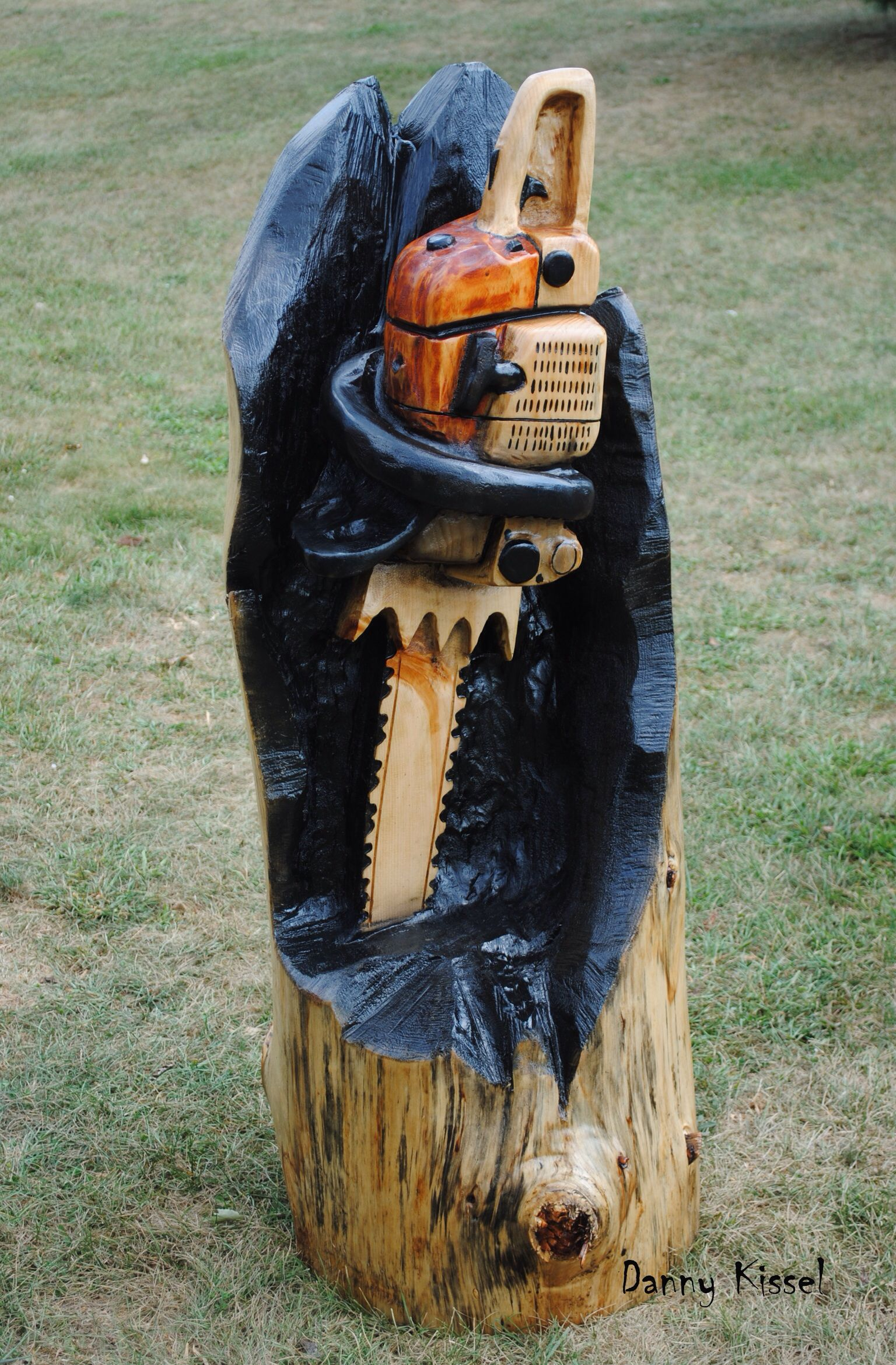 Stihl chainsaw carving pinterest