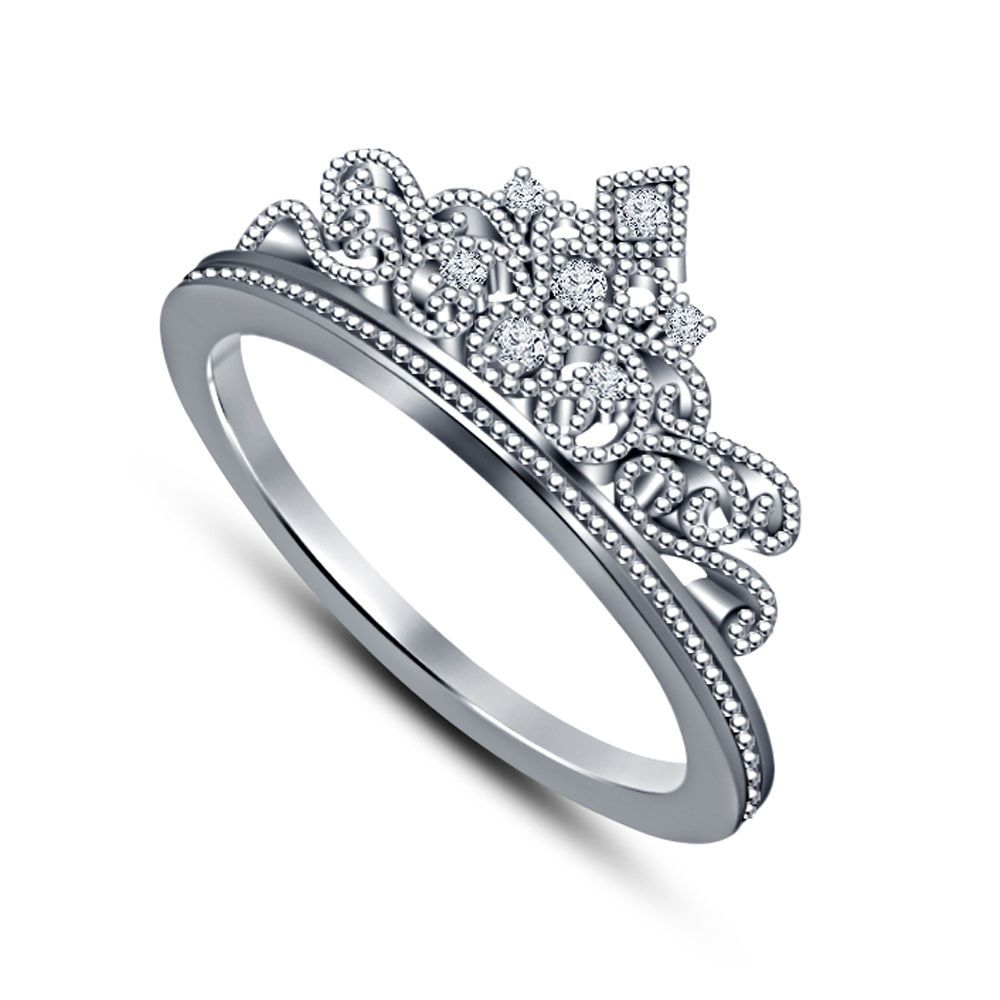 1.00 Ct Princess Cut Sim Diamond 925 Silver Bridal Set Engagement Wedding Ring