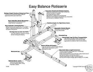 Auto Truck Car Body Rotisserie Plans Tuning | AUTO | Pinterest