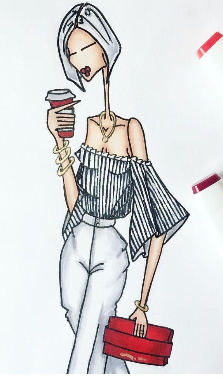 Pin de ❥Mz. Manerz en ❥ Mz. Fashion Illustrates   Pinterest ...