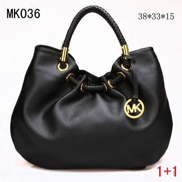 b87ebbfa39036 Michael Kor Handbags Black Leather Gold Hardware only  69.99