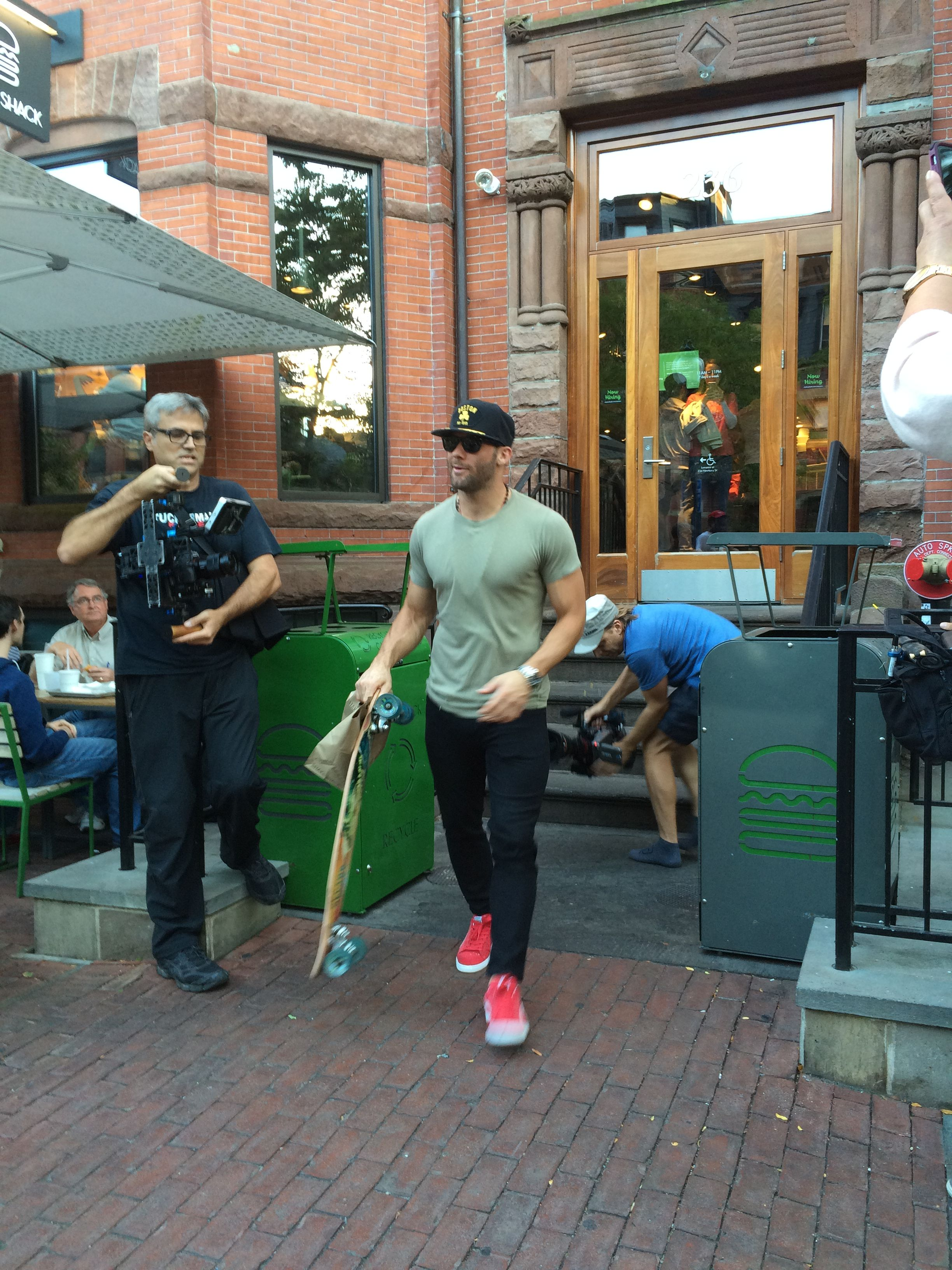 A Day In The Life Of Julian Edelman The Boston Globe Julian Edelman Julian Edleman Edelman