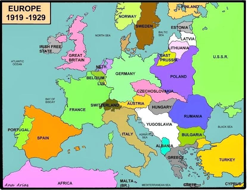 map of europe before ww2 Printable Map Of Europe wwii map of europe maps click on the map