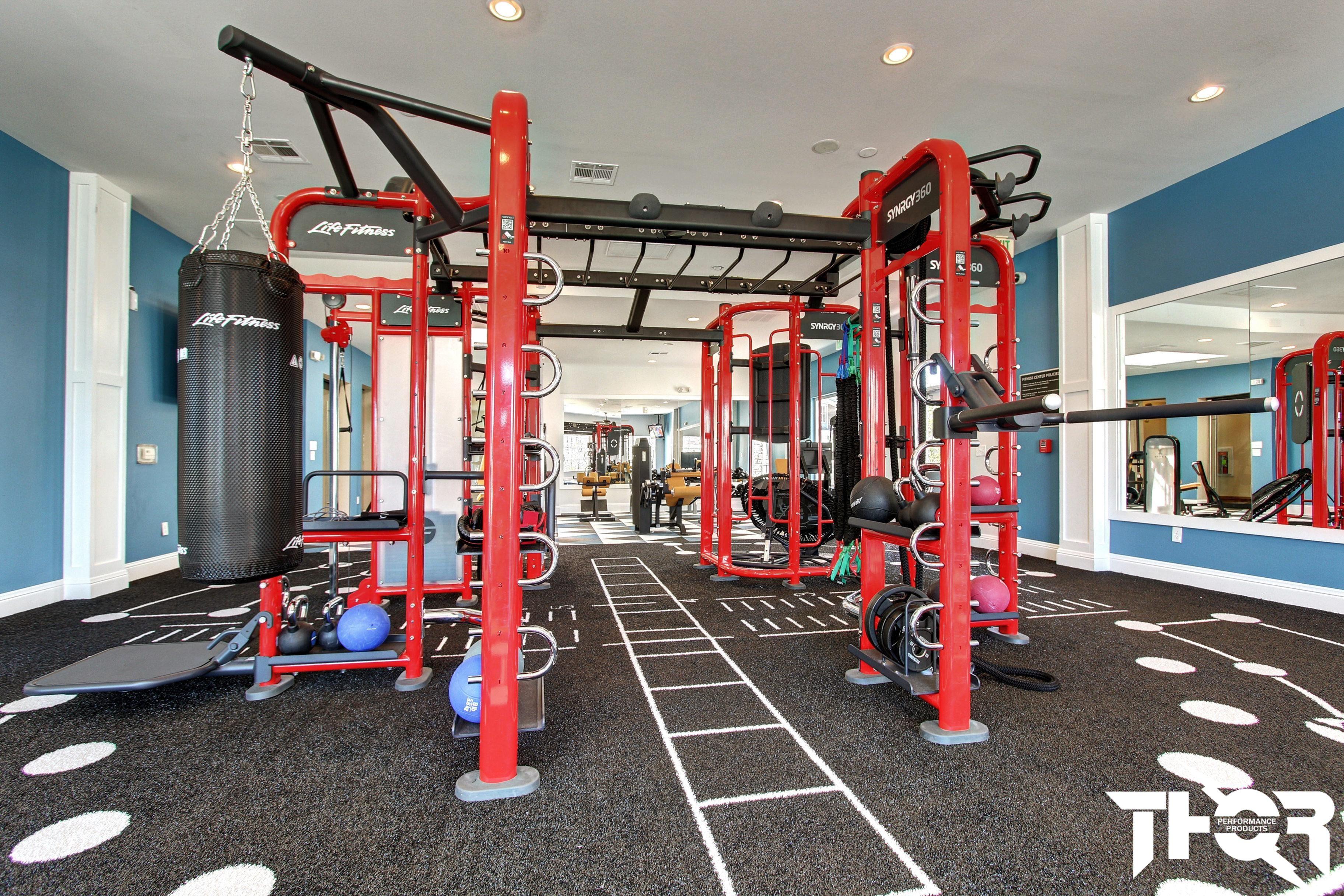 Flooring For Amenity Fitness Centers Wellness Design Turf Installation Floor Workouts