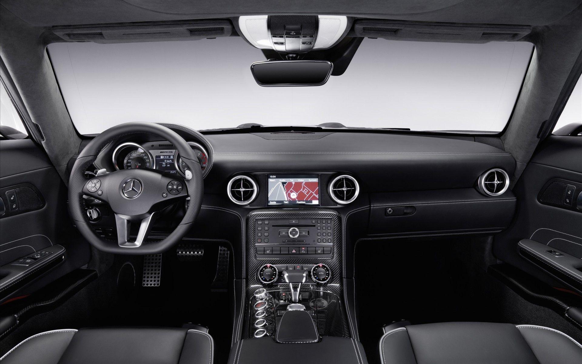 Mercedes Benz Sls Amg Interior Hd Wallpaper Mercedes Benz Sls