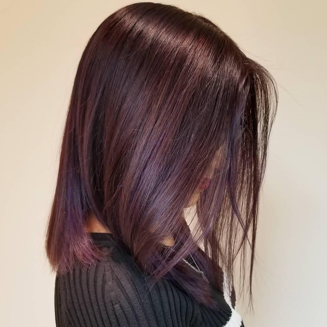 How to Create Mahogany Hair Color
