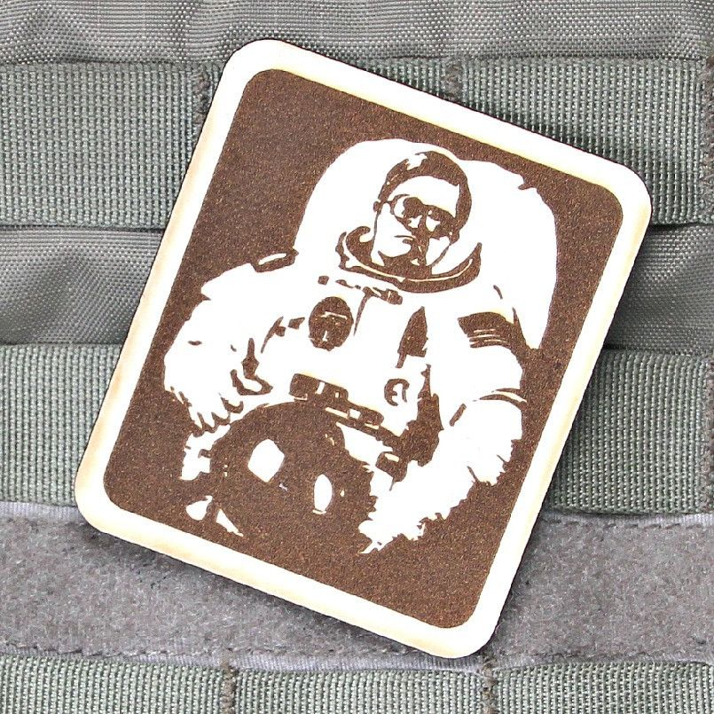 bubbles in a decent space suit morale patch patches pinterest