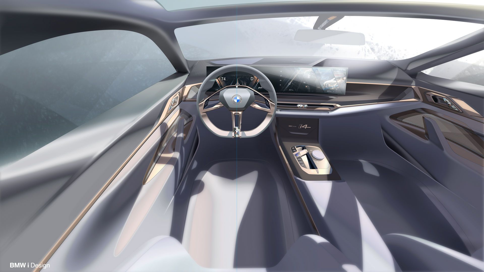 Bmw Concept I4 Previews Production Model Coming In 2021 Bmw