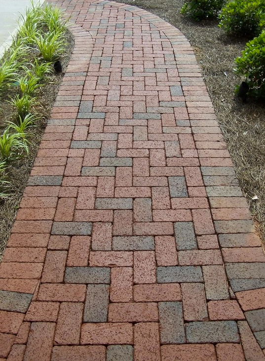 Rumbled Full Range Clay Pavers By Pine Hall Brick Are Tumbled After Firing To Give Your Diy Project A Antique Old Worl Brick Paving Brick Pavers Brick Sidewalk
