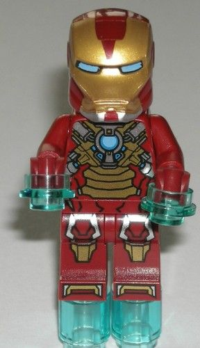 Lego Super Heroes Iron Man 3 Heart Breaker Armor Suit Minifigure 76008 | eBay $12.49
