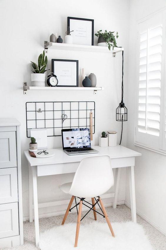 Photo of Zo creëer je thuis een werkplekje in Scandinavische stijl #slaapkamerideeen wer…