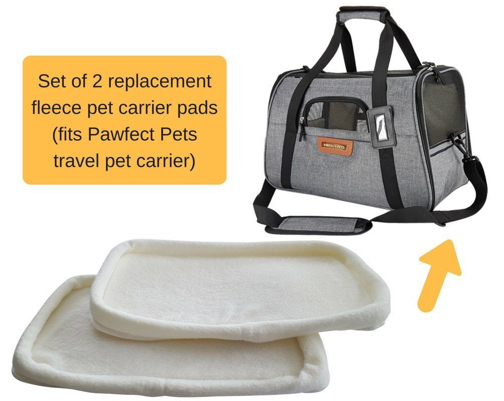Pawfect Pets Pet Travel Carrier Soft Sided With Two Pet Mats For Small Dogs And Cats Visit The Image Link More Detail Pet Travel Pet Travel Carrier Pet Mat