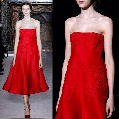 Red Prom dress,wedding/formal/evening dress